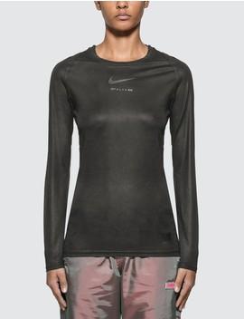 Nike X 1017 Alyx 9 Sm Long Sleeve T Shirt by Alch