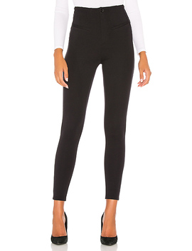 Elena High Rise Skinny Jean In Black by Free People