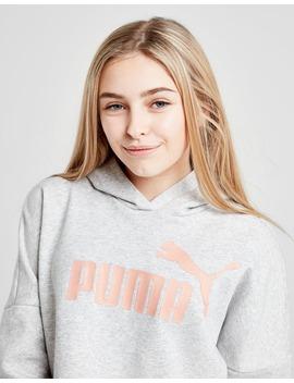 Puma Girls' Core Crop Hoodie Junior by Jd Sports
