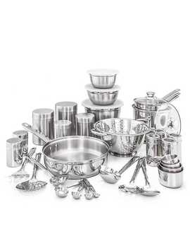 Stainless Steel 36 Pc. Kitchen In A Box Set by Kirkland's