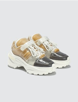 Pvc Retro Fit Sneakers by              Maison Margiela