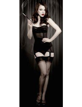Rare Kiss Me Deadly Kmd Ophelia Stockings 100% Soft Nylon Black Size 1 by Ebay Seller