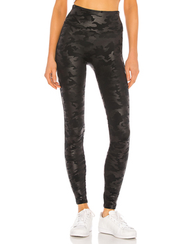 Faux Leather Camo Legging by Spanx