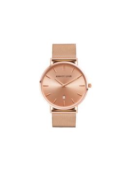 Abbott Lyon Women's Stellar 40 Date Mesh Bracelet Strap Watch, Rose Gold by Abbott Lyon