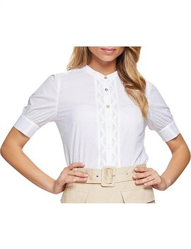 Mila Cotton Voile Blouse by Oxford