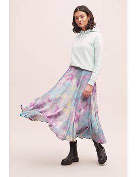 Bl Nk Addiah Tie Dye Midi Skirt by Bl Nk