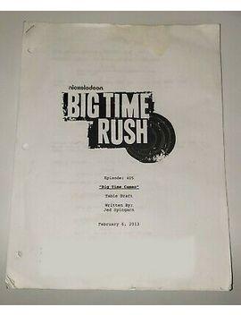 Big Time Rush Personalized By Gustavo Rocque  Aka Stephen Kramer Glickman by Ebay Seller