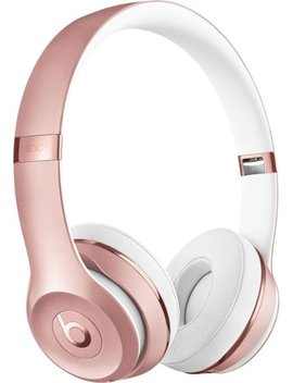 Solo³ Wireless On Ear Headphones   Rose Gold by Beats By Dr. Dre