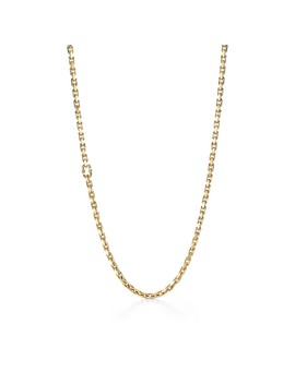 """Tiffany 1837®        Makers Chain Necklace In 18k Gold, 24"""" by Tiffany 1837®"""