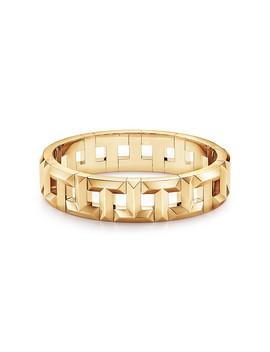Tiffany T        True Hinged Bracelet In 18k Gold by Tiffany T