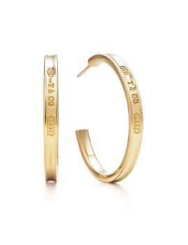 Tiffany 1837®        Hoop Earrings by Tiffany 1837®