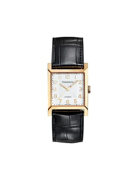 Tiffany 1837        Makers 27 Mm Square Watch by Tiffany 1837