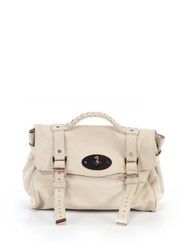 Leather Satchel by Mulberry