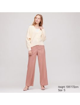 Women Relaxed Fit V Neck by Uniqlo