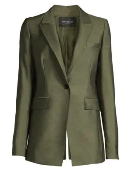 Atticus Long Line Blazer by Lafayette 148 New York