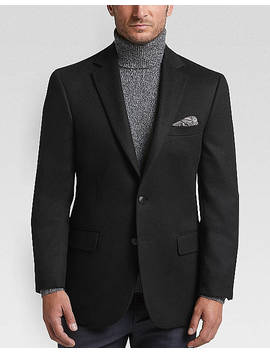 Joseph Abboud Limited Edition Black Modern Fit Sport Coat by Joseph Abboud Limited Edition