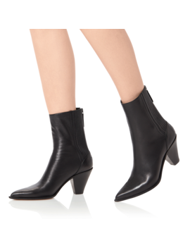 Ronil Leather Ankle Boots by Jessica Buurman