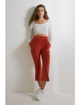 Out From Under Foxy Velour Kick Flared Joggers by Out From Under