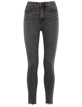 Good Curve Grey Skinny Jeans by Good American