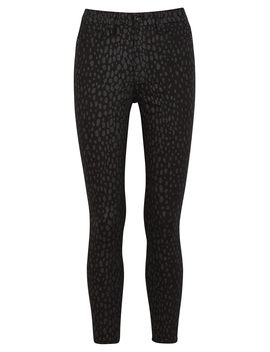 Good Legs Leopard Print Skinny Jeans by Good American