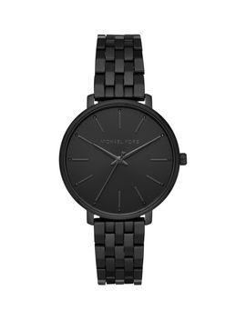Pyper Black Stainless Steel Bracelet Watch by Michael Kors