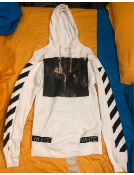 Off White Caravaggio Paint Hoodie by Off White  ×