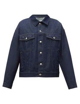 Oversized Denim Jacket by Mm6 Maison Margiela