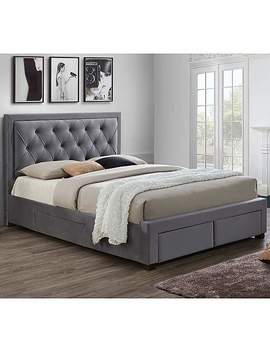 Woodbury Fabric Bed Frame by Dunelm