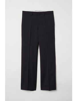 Relaxed Fit Wool Suit Pants by H&M