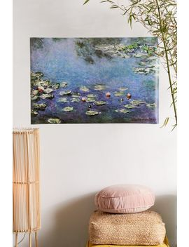 Claude Monet Water Lilies Poster by Urban Outfitters