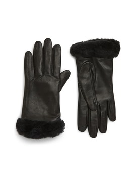 Genuine Shearling Leather Tech Gloves by Ugg