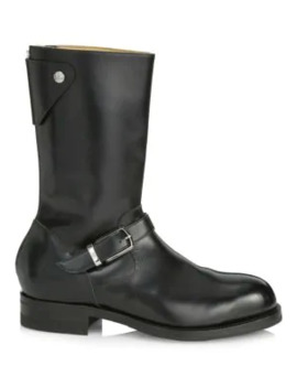 Bethnal Mid Calf Leather Boots by Paul Smith