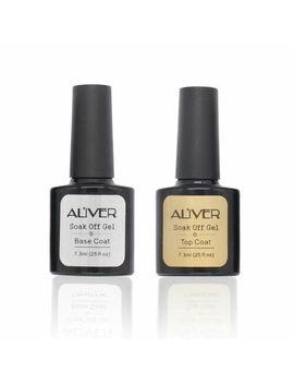 Aliver Nail Line Top Coat And Base Coat Nail Gel Polish Professional Uv Led Gel by Ebay Seller