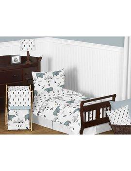 Bear Mountain 5 Piece Toddler Bedding Set by Sweet Jojo Designs