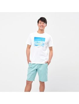 Men Makoto Shinkai Films Collection Ut (Short Sleeve Graphic T Shirt) by Uniqlo