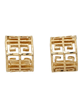 Gold 4 G Earrings by Givenchy