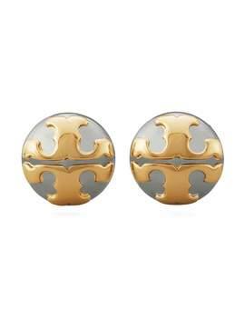 Applied Logo Stud Earrings by Tory Burch