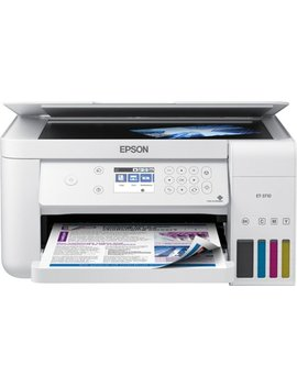 Eco Tank Et 3710 Wireless All In One Printer   White by Epson