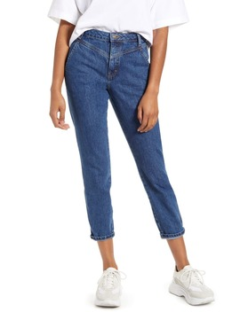V Panel Mom Jeans by Topshop