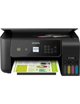 Eco Tank Et 2720 Wireless All In One Printer   Black by Epson