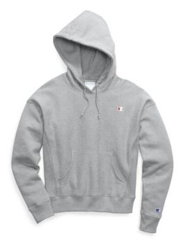 Champion Life® Women's Reverse Weave® Pullover Hood, C Logo by Champion