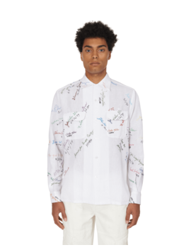 Signature Cotton Shirt by Bode