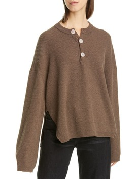 Lione Merino Wool & Cashmere Blend Sweater by Nanushka