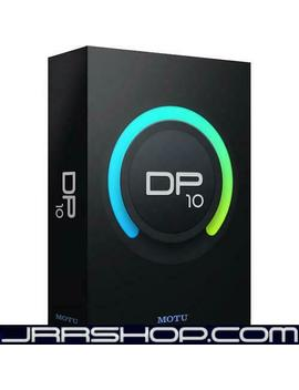 Motu Digital Performer Dp 10 Upgrade From Previous Version E Delivery Jrr Shop by Motu