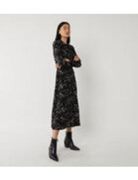 Daisy Print Midi Shirt Dress by Warehouse