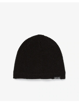 Textured Fleece Lined Beanie by Express