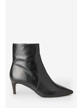 Whistles Black Celia Sock Boots by Next