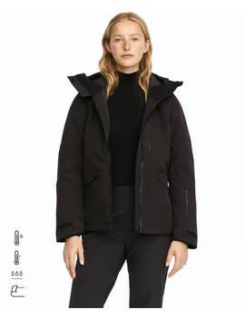 Black Waterblock Ski Jacket by Oysho