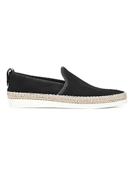 Silas Suede Espadrille Slip On Sneakers by Vince