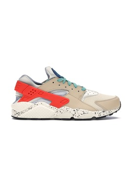 Air Huarache Run Desert Ore Hyper Jade by Stock X